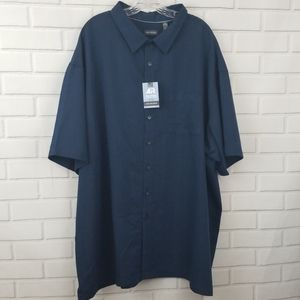 Van Heusen Short Sleeve Button Down Shirt